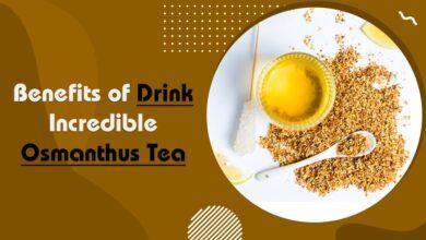 incredible osmanthus tea